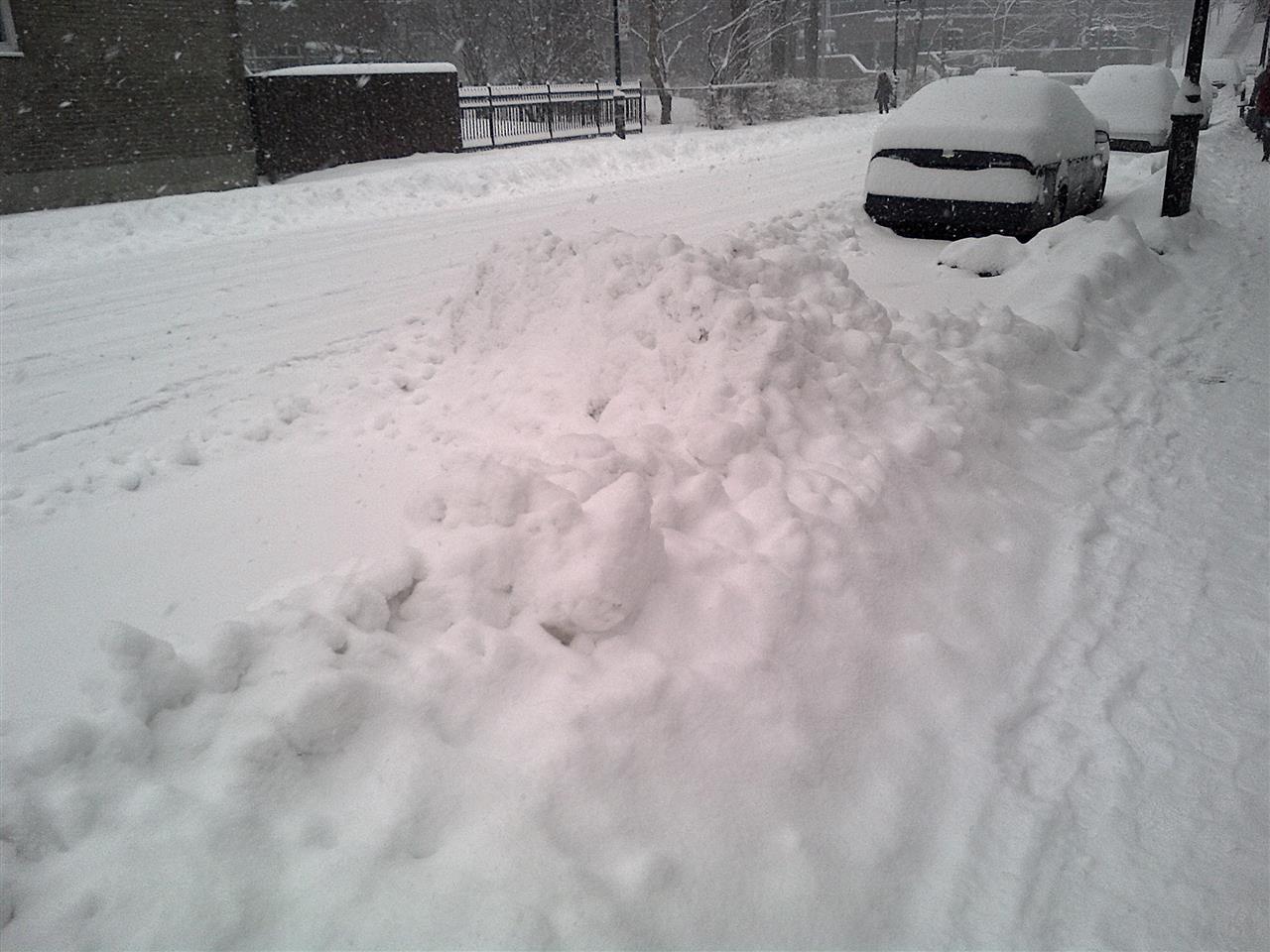 Schnee, Schnee und noch mehr Schnee